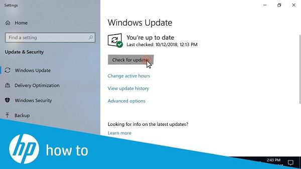 windows 10 update to solve error 3371