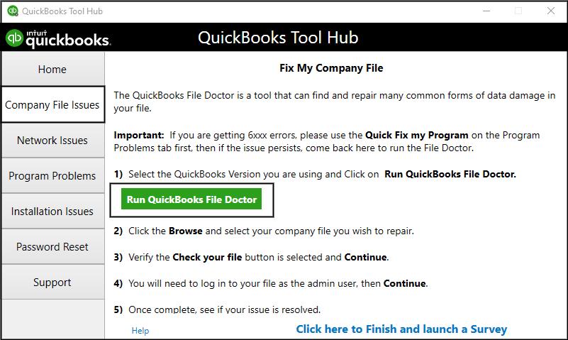 download quickbooks file doctor to solve quickbooks c=51